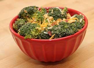 Peanut Broccoli Salad