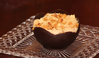 Peanut Butter Chocolate Mousse Cups