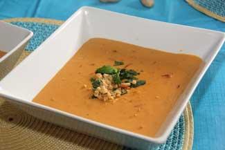 Peanut Pumpkin Soup