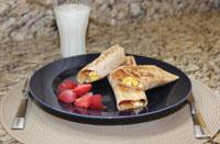 PB Breakfast Wrap