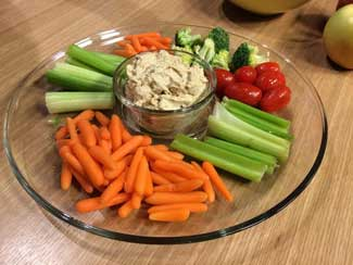 Peanut Butter Curry Dip for Veggies