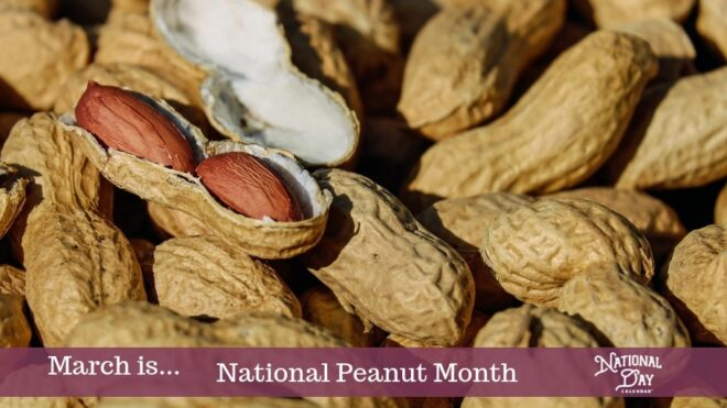 Celebrate National Peanut Month in March
