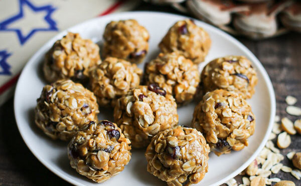 Game Day Peanut Butter Protein Bites