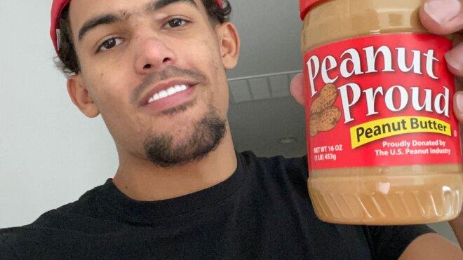 Georgia Peanut Commission partners with  Atlanta Hawks Star Trae Young in donating peanut butter to Atlanta-area schools