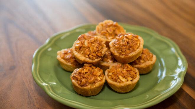 Southern Peanut Pie Tassies