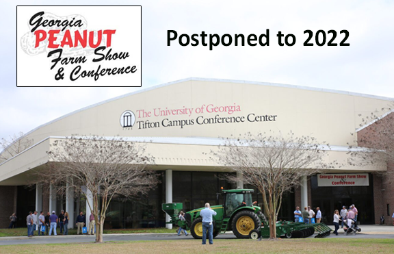 45th annual Georgia Peanut Farm Show  postponed until January 2022