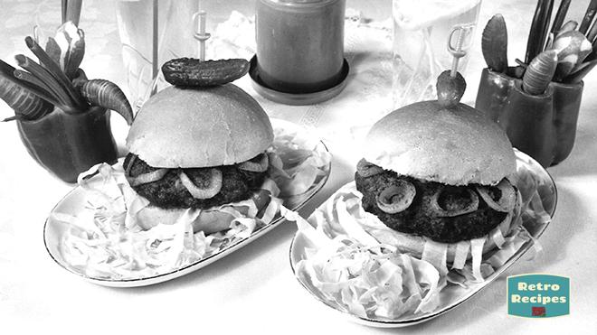 Georgian Peanut Butter Burgers