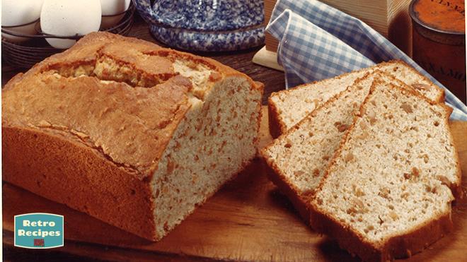 Peanut Applesauce Bread