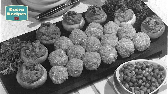 Crunchy Peanut Olive Balls