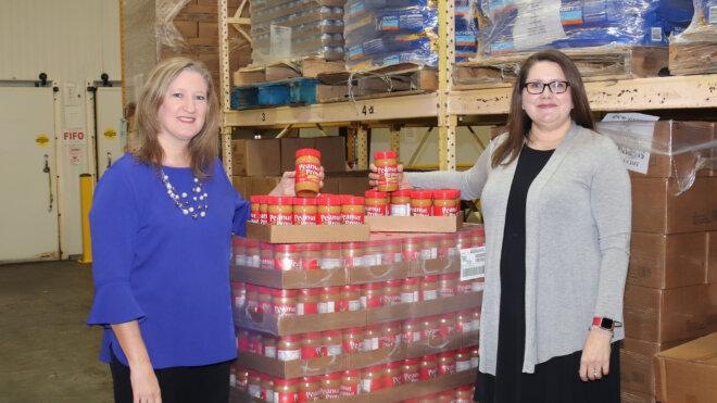 Georgia Peanut Farmers Donate Peanut Butter to Second Harvest of South Georgia