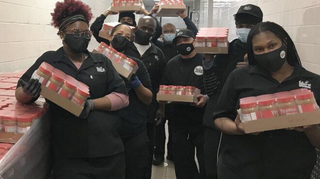 Georgia Peanut Farmers Donate Peanut Butter to DC Central Kitchen