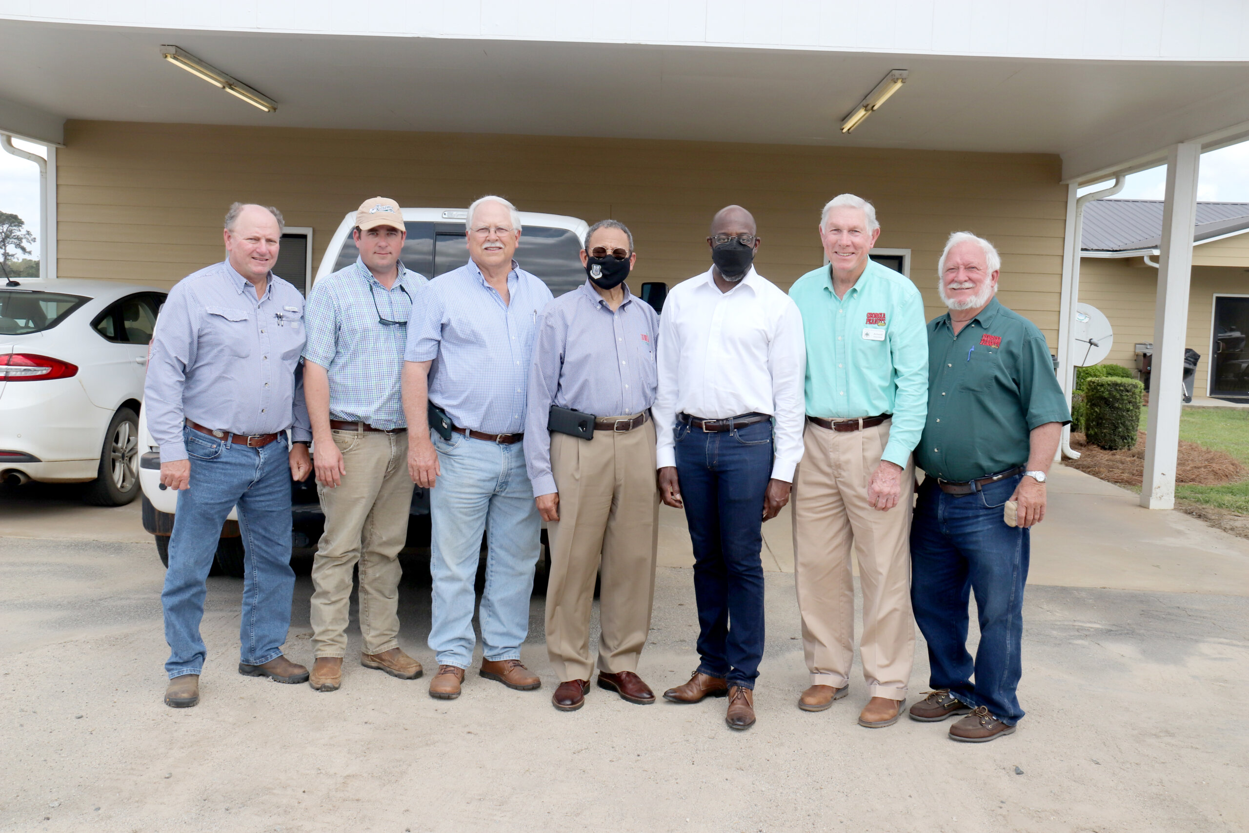 Senator Warnock & Congressman Bishop's Congressional Ag Tour in Southwest Georgia