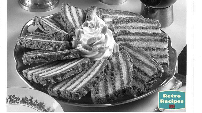 Peanut Ribbon Cake