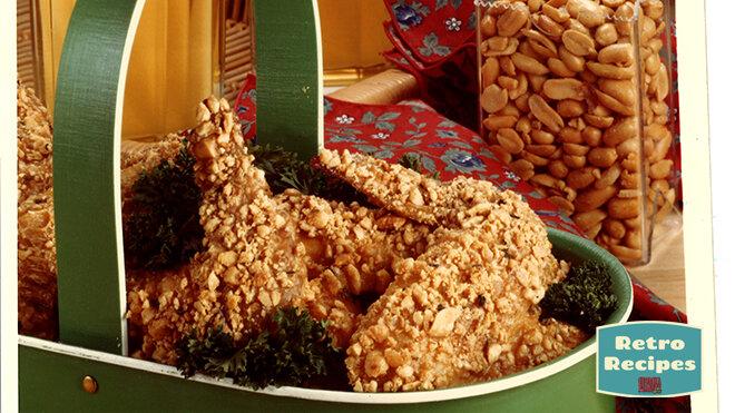 Savory Peanut Chicken Wings