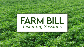 Georgia Peanut Commission plans to host Farm Bill Listening Sessions in August