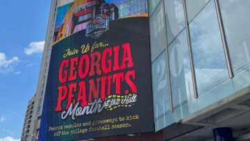 Celebrate Georgia Peanut Month at the College Football Hall of Fame